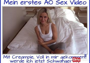 Mein erstes Sex Video AO !!!
