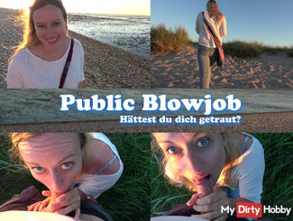 Public Blowjob - Would you have done it?