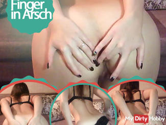 Finger in ass
