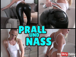IMPACT and NASS - showers in leggings and swimsuit