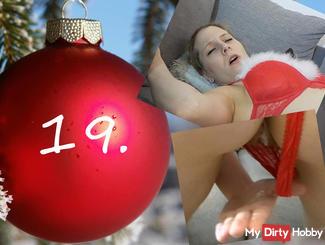 19 door Pregnant? AO-Fick in Christmas Dress