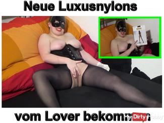 Luxury nylons from my Lover get another model