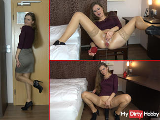 Anal Addicted - Hotel Rendezvous mit SexyNaty