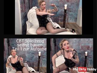 CBT Ball Torture / self-made Spike Parachute Part 2 the task