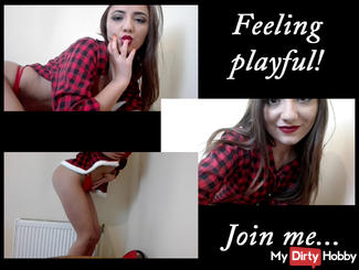 Feeling playful !