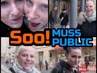 Soo! MUST PUBLIC - More Spermawalk not go