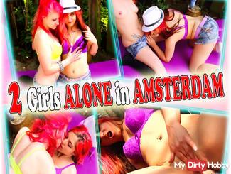 2 Girls ALONE in AMSTERDAM