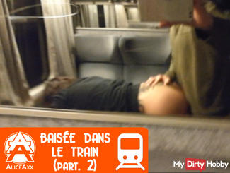 Fucked in the train. Part. 2
