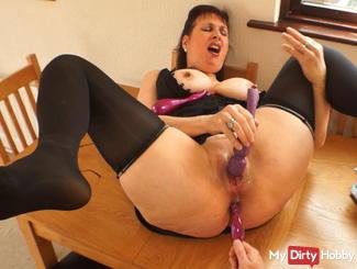 double penetration climax