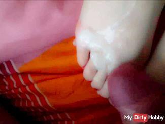 real Spontanfick Foot insemination