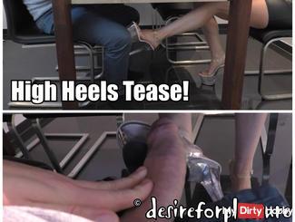 Heels Tease - fucked on the kitchen table! - Part 1