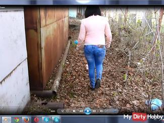 Pissen in Jeans