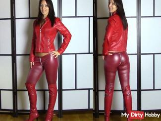 User Fick test! Fuck the pussy really Leather