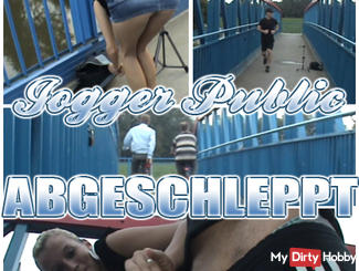 JOGGER PUBLIC towed! without RUBBER