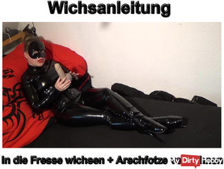 Wichsanleitung In the face wank + spoiled asshole