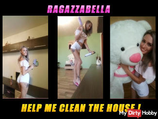 Help me clean the house, I will repay you!