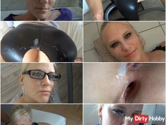 Best of Lara´s FACIALS & CUMSHOTS