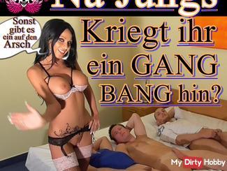 Well guys Kriegt her toward a gangbang?