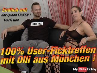 100% User Ficktreffen with Olli from Munich !!!