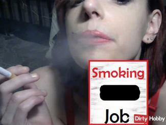 Rauchen Schlagjob