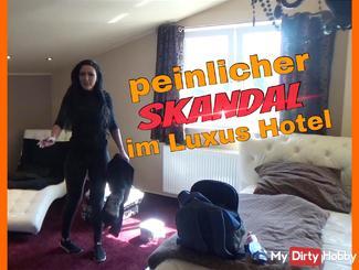 embarrassing scandal in Hotel