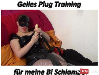 Plug training for my Bi bitch