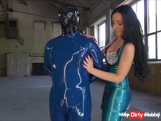My rubber slave