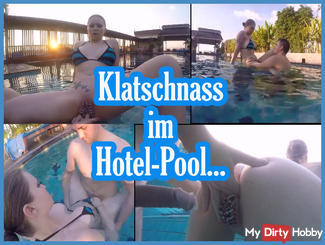 Geil come in the pool!