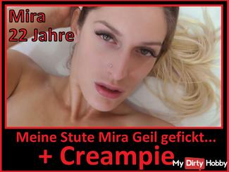 Girl 020 / Mira 22 years Fucked + creampie