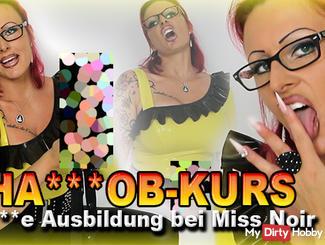 hand**b-Kurs! Geile Ausbildung bei Miss Noir!