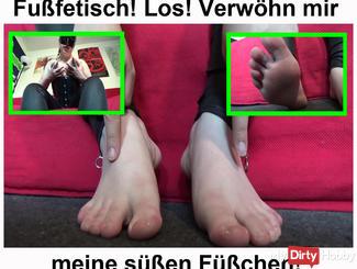 Foot fetish! Los pampering my sweet feet