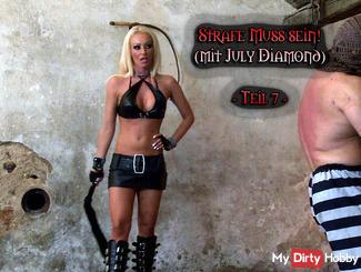 July Diamond - punishment must be! - Part 7