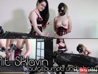 Pumped And Wanked Off With Slave Girl I