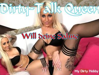 Dirtytalk Queen wants your cream