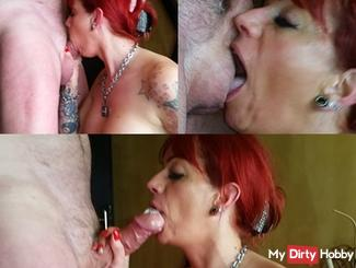 brutally fucked in the mouth