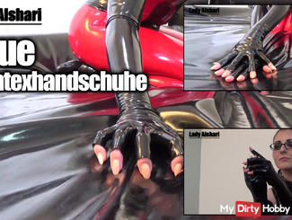 New Latex Gloves