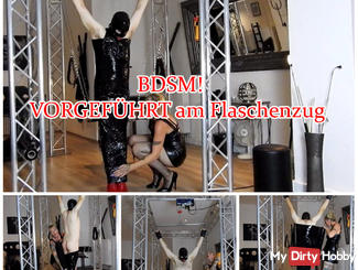 Demonstrated the pulley! BDSM