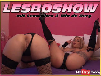 LESBOSHOW with Lena Nitro & Mia de Berg *** without sound ***