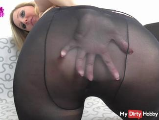 User request: Plump ass in nylon