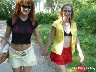 * a horny summer at the lake with Sandra *