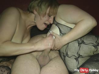 Blow porn cinema with and cumshot