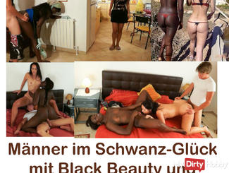 Men-Cucks in happiness with Black Beauty and Annabel, best off