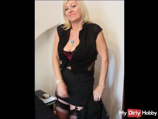 sexy Sekretärin Striptease