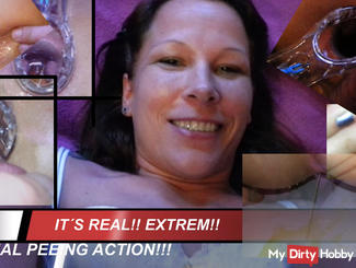 It´s real!! EXTREME ANAL PEEING ACTION!!!!