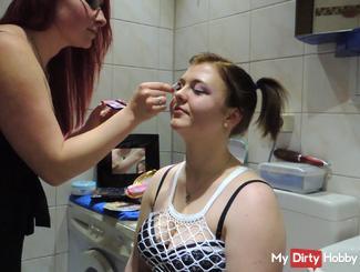 hooker makeup