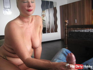 Nylon bitch wixt from User cock