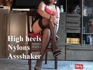 High Heels & Nylons Assshaker