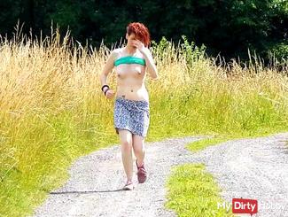 Topless Running