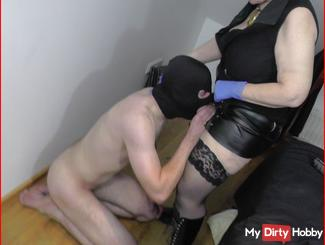 Fuck ass blow - User used bitch violently