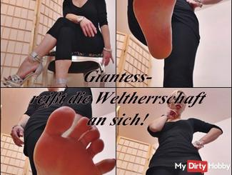 Giantess - tears the world domination